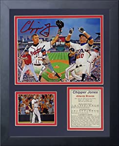 """Legends Never Die Chipper Jones- Atlanta Brave and Team USA Legend Collectible 
