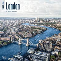 London 2018 12 x 12 Inch Monthly Square Wall Calendar