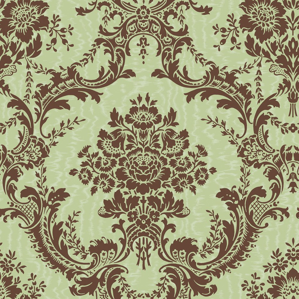 Decorate By Color BC1582018 Damask On Moire Wallpaper