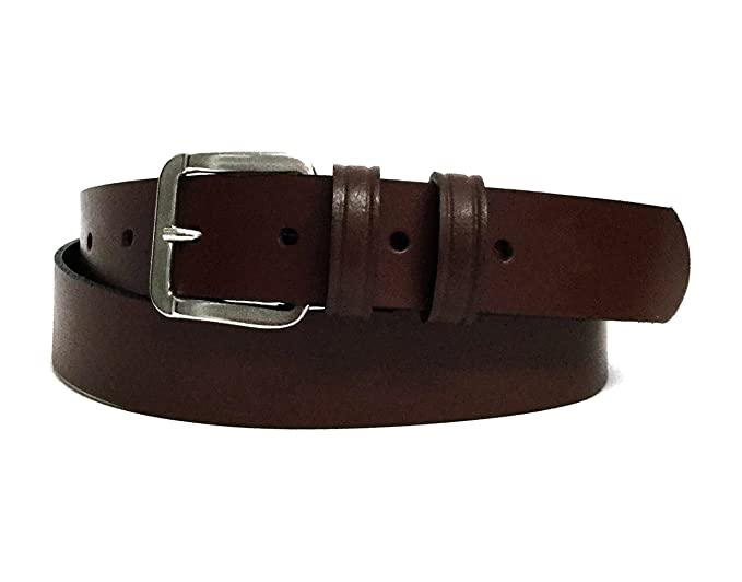 487e6d139824 Women s Brown Leather Belt - 30mm Wide - UK Sizes 8-22 - 100% Real ...