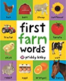 First Farm Words: First 100 Soft to Touch