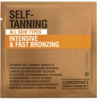 COMODYNES Self-Tanning Intensive Towels- by Comodynes