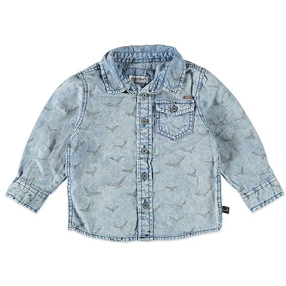 f05b9edf57995 Babyface Kidzface - T-Shirt - Garçon Bleu Horizon Wash 104 cm - Bleu -