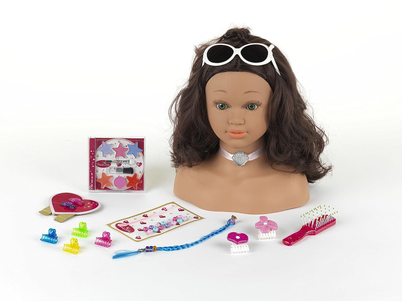 Theo Klein 5267 - Princess Coralie Cabeza Para Maquillar Y Peinar Hawaii, Grande 5267-TK