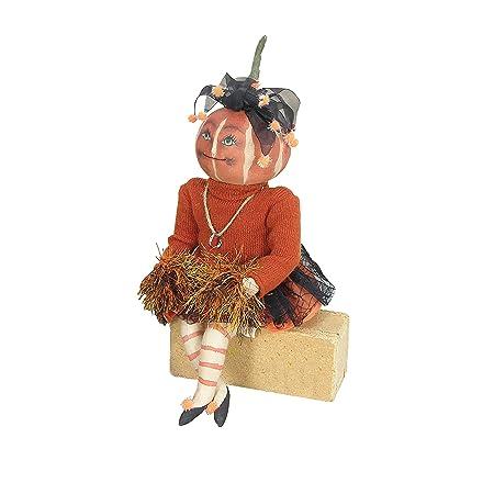 Lucille Pumpkin Soft Sculpture