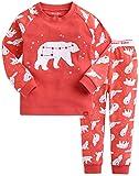 Vaenait baby Kids Girls 100% Cotton Sleepwear