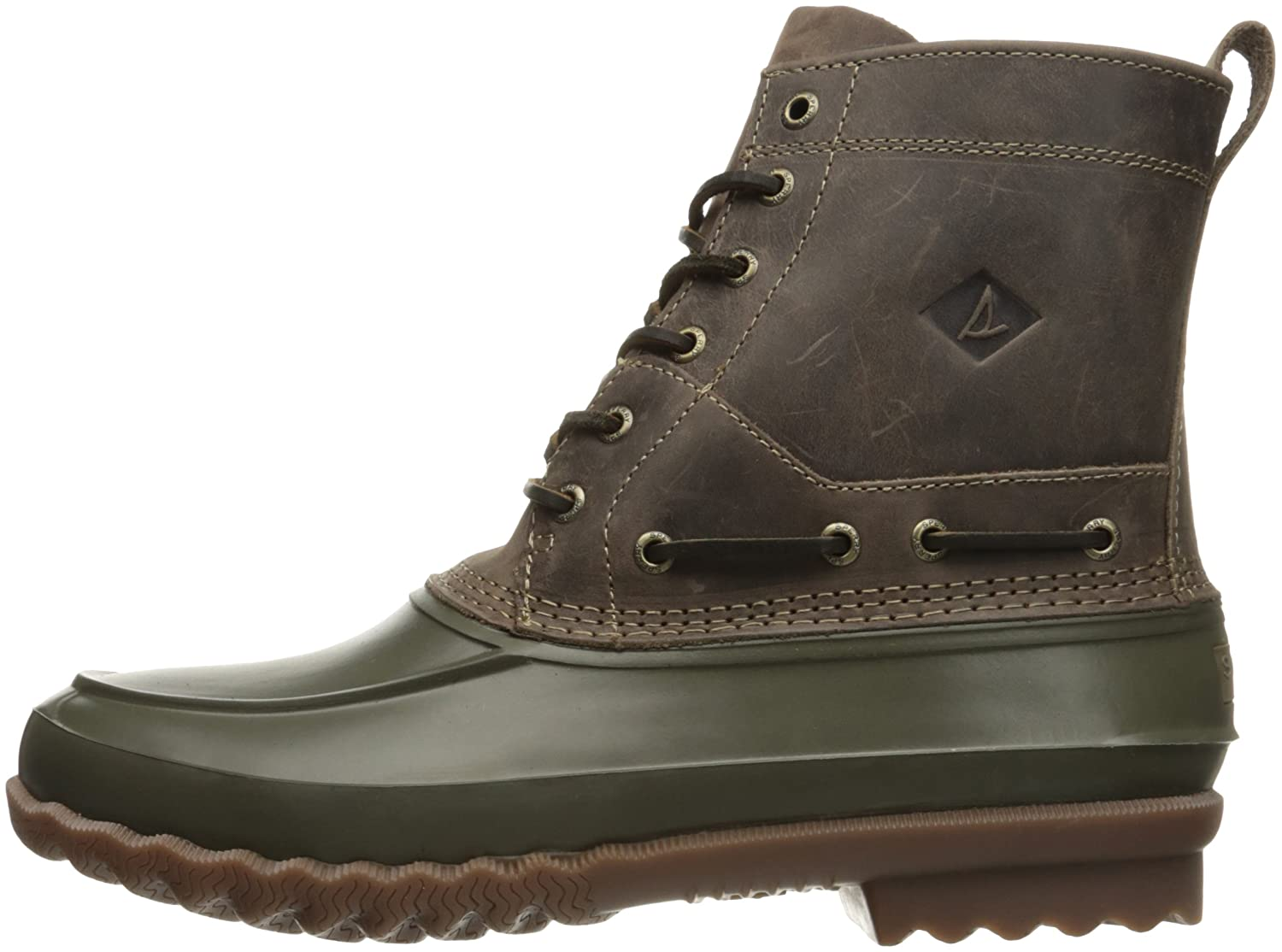 Sperry Top-Sider Men's Decoy Rain Rain Rain Stiefel, Dark Grün, 7.5 M US 3ca575