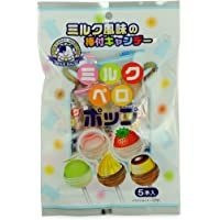 Akiyama 秋山 什锦水果乳味棒棒糖50g(日本进口)