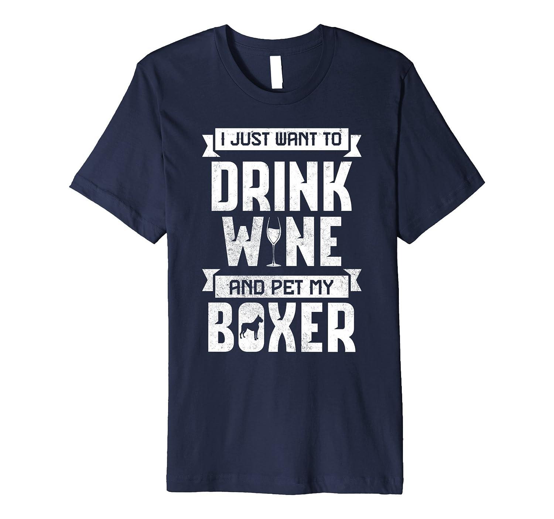 Boxer Dog Apparel Wine Mom Shirt Td Teedep