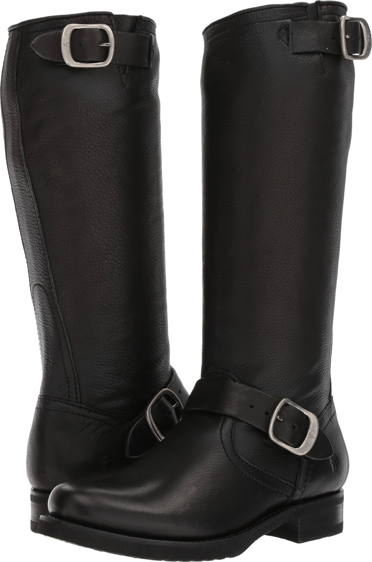 FRYE Women's Veronica 2 Slouch Boot, Black, 8 M US