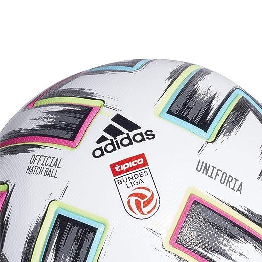 adidas AUT BULi Pro Balón Fútbol Hombre, Blanco (Blanco/Negro ...