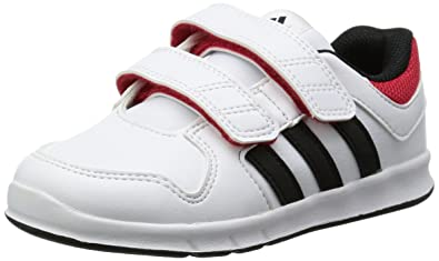2101078253931 ADIDAS- Baskets Fille LK Trainer- Blanc et Rose  Amazon.fr  Chaussures et  Sacs