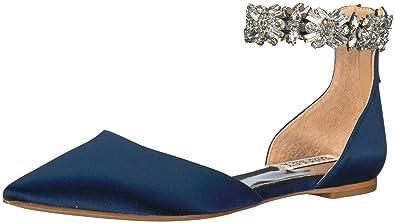 c2e3b22bb41c Badgley Mischka Women s Morgen Mary Jane Flat  Amazon.co.uk  Shoes ...