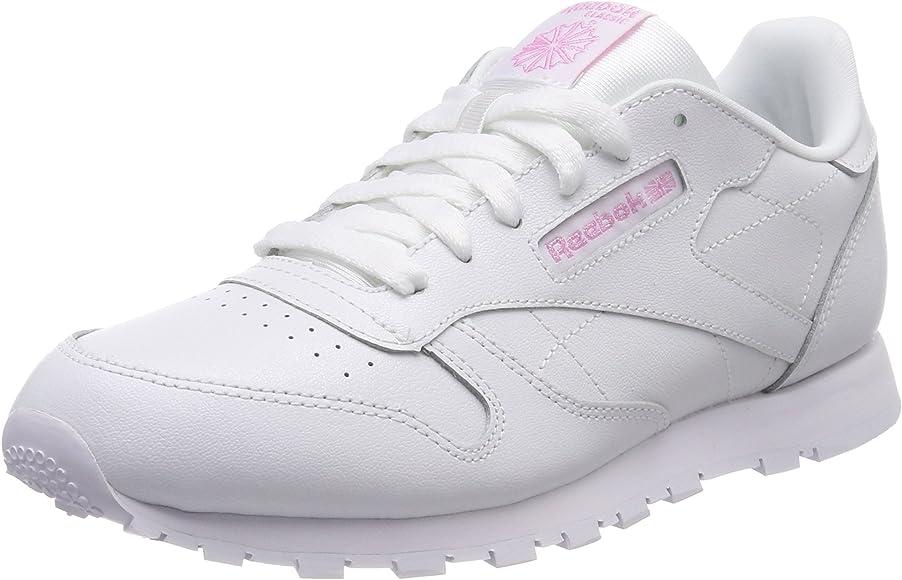 Reebok Classic Leather Metallic, Zapatillas de Deporte para Mujer, Blanco (White 000), 36 EU: Amazon.es: Zapatos y complementos