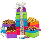Broadway Basketeers Gift Tower, Happy Birthday Wishes