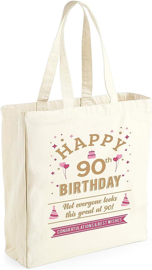 Bolsa de lona de algodón de 50 cumpleaños - Para mujer - Como ...