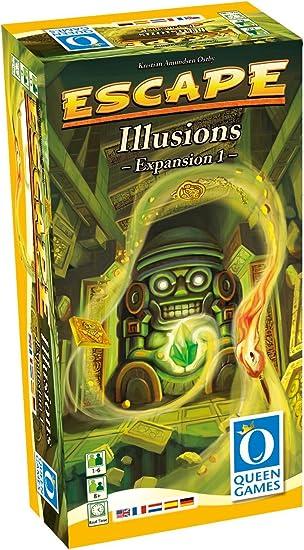 Queen Games - Juego de Cartas, 1 a 6 Jugadores (QUE61031) (versión en inglés): Amazon.es: Juguetes y juegos