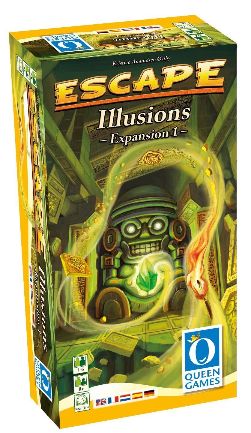Queen Games 61031 - Escape Erweiterung 1, Illusions B009ATUNOK Brettspiele Gewinnen Sie hoch geschätzt | Neuheit Spielzeug