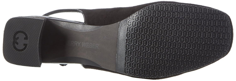 GERRY WEBER Schwarz Damen Venezia 01 Pumps Schwarz WEBER (Schwarz) 9f19aa