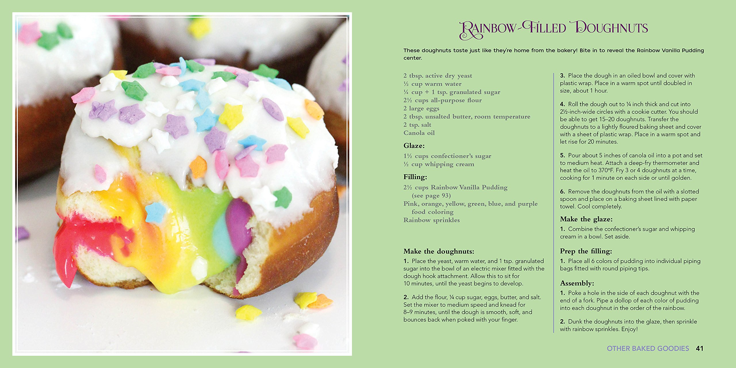 Unicorn Food: Rainbow Treats and Colorful Creations to Enjoy and Admire 5