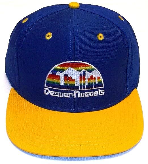 huge discount b0bf9 0598a Amazon.com   Adidas Denver Nuggets Snapback Blue   Navy Two Tone Adjustable  Plastic Snap Back Hat   Cap   Sports Fan Baseball Caps   Clothing