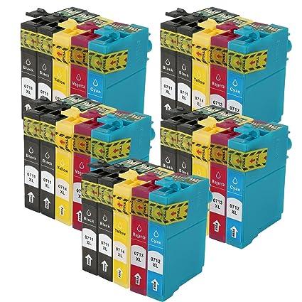 WOPPO - Cartuchos de tinta compatibles con Epson T0715 (T0711 ...
