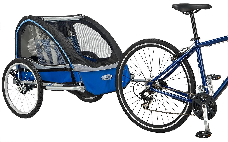 Instep Rocket 11 Bicycle Trailer Blue Black Blue