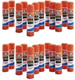 Elmer's Washable Disappearing Purple Glue Sticks, 24 Pack