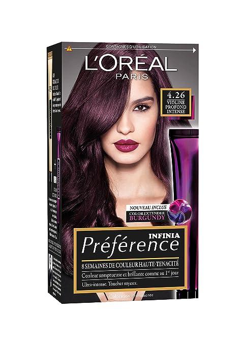 coloration violet pour cheveux brun coiffures populaires