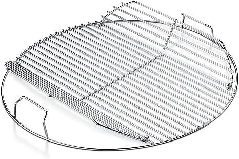 Huber Grillger/äte Barbecue pivotant tr/épied avec manivelle /& Grill en acier inoxydable 50/cm