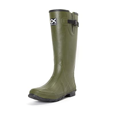 """DUCK AND FISH Men's 18"""" Rubber Hunting Boots"""