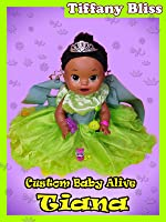 Tiana Princess and the Frog Custom Baby Alive Eats Play-Doh Poops Surprise Blind Bags