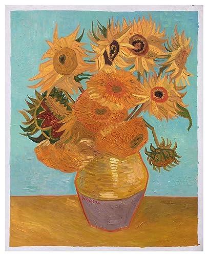 Amazon Com Still Life Vase With Twelve Sunflowers Vincent Van