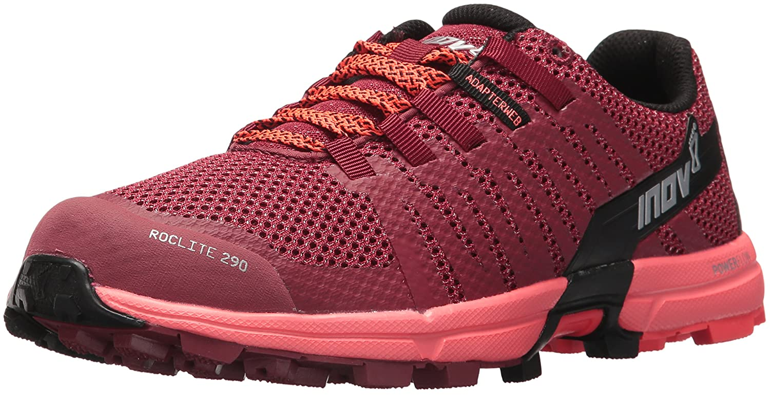 Inov-8 Women's Roclite 290 (W) Trail Running Shoe B073VRBTFQ 8.5 M US|Red/Coral