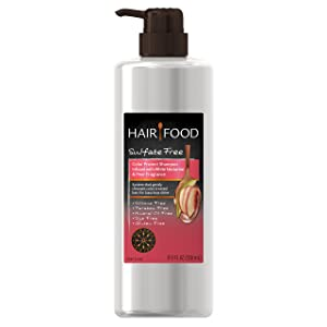 Hair Food Sulfate Free Color Protect Shampoo with White Nectarine & Pear Fragrance, 17.9 Fluid Ounce