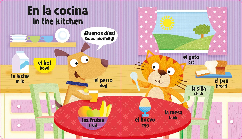 Amazon.com: Mis Primeras Palabras My First Words (Spanish Edition) (9781499881455): IglooBooks: Books