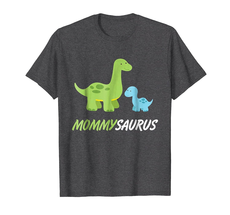Mommysaurus  Cute And Sweet Mom Family Dino T-Shirt