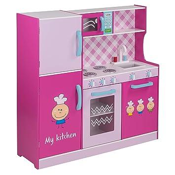 Children S Froggy Play Kitchen Play Kitchen Wooden Play Kitchen Play Toy Kitchen Wood Wooden Kitchen Amazon De Toys Games