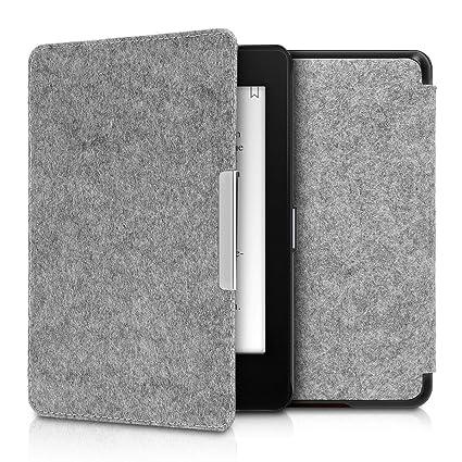 kwmobile Amazon Kindle Paperwhite (10. Gen - 2018) Hülle - Filz Stoff eReader Schutzhülle Cover Case für Amazon Kindle Paperw