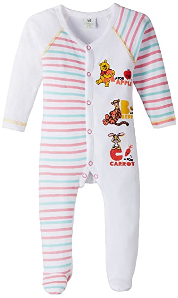 79c27d350314 Disney Winnie the Pooh Baby Boys  Nightdress (SS15TRU06 White 24 Months)