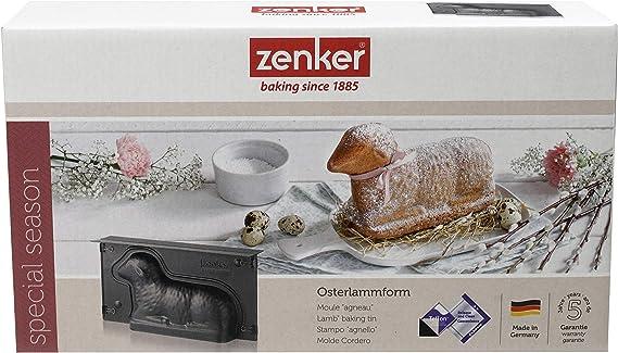 NEW Zenker Bunny Rabbit Mold Teflon Osterhasen backform baking tin
