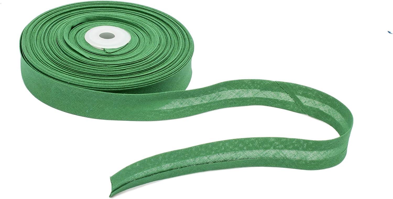 Cotton Bias Binding 20 mm Wide Single Fold White 5 Yards