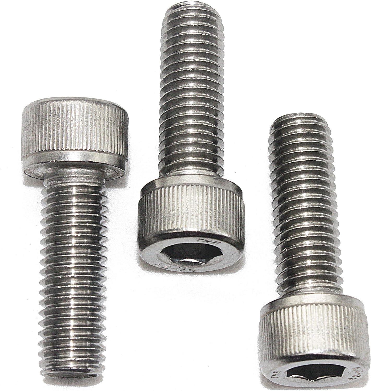 - DIN 912 ISO 4762 Zylinderschrauben mit Innensechskant 100 St/ück Zylinderkopfschrauben Edelstahl A2 V2A M4x12 -
