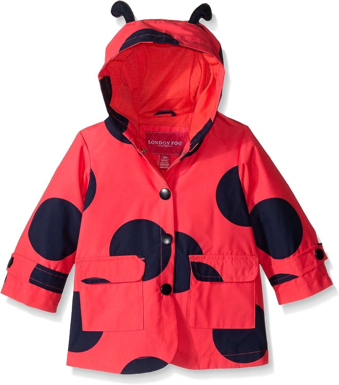 LONDON FOG Baby Girls Enhanced Radiance Rainslicker Rain Coat