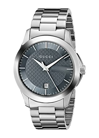 8353e809930 Image Unavailable. Image not available for. Color  Gucci G-Timeless  Stainless Steel Men s ...