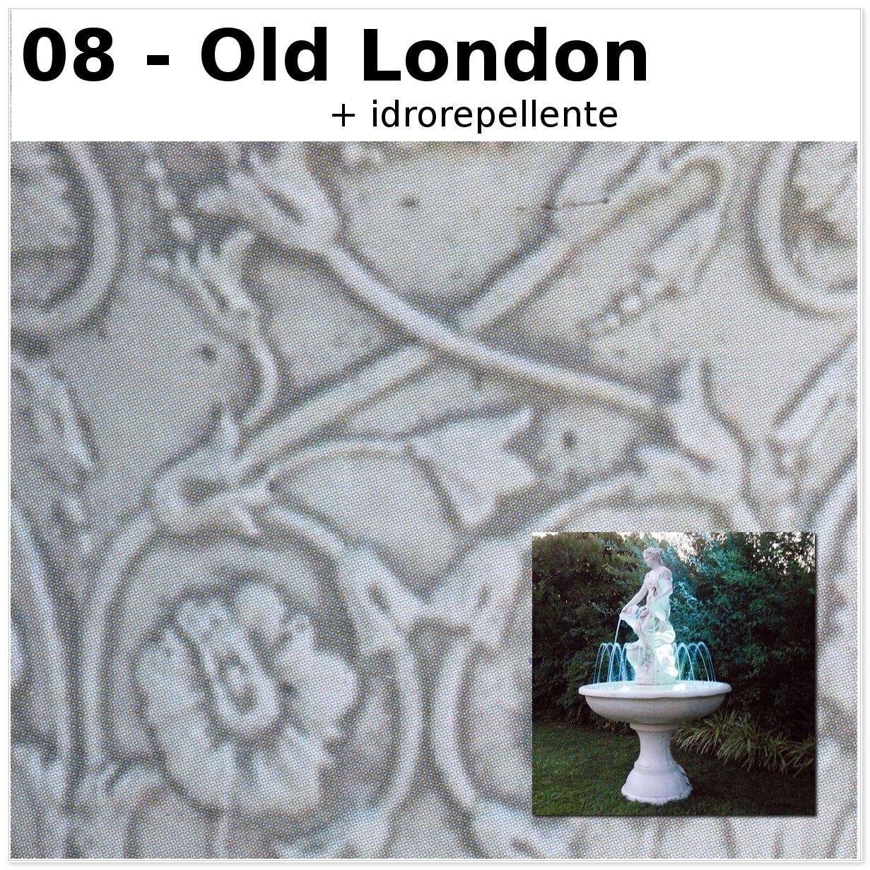 FONTANA DA GIARDINO BARCELLONA CM102X102X178H OLD LONDON
