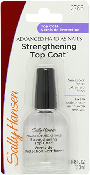 Amazon.com: Sally Hansen Advanced Hard as Nails, Nude, 0.45 Fluid ...