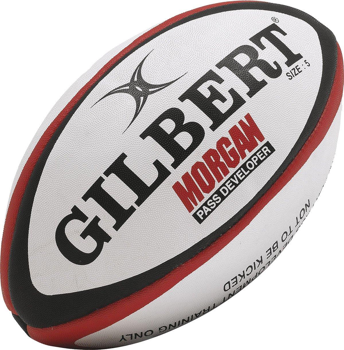 ギルバートラグビースポーツボールモーガンPass開発者サイズ4 – 5  Size 4