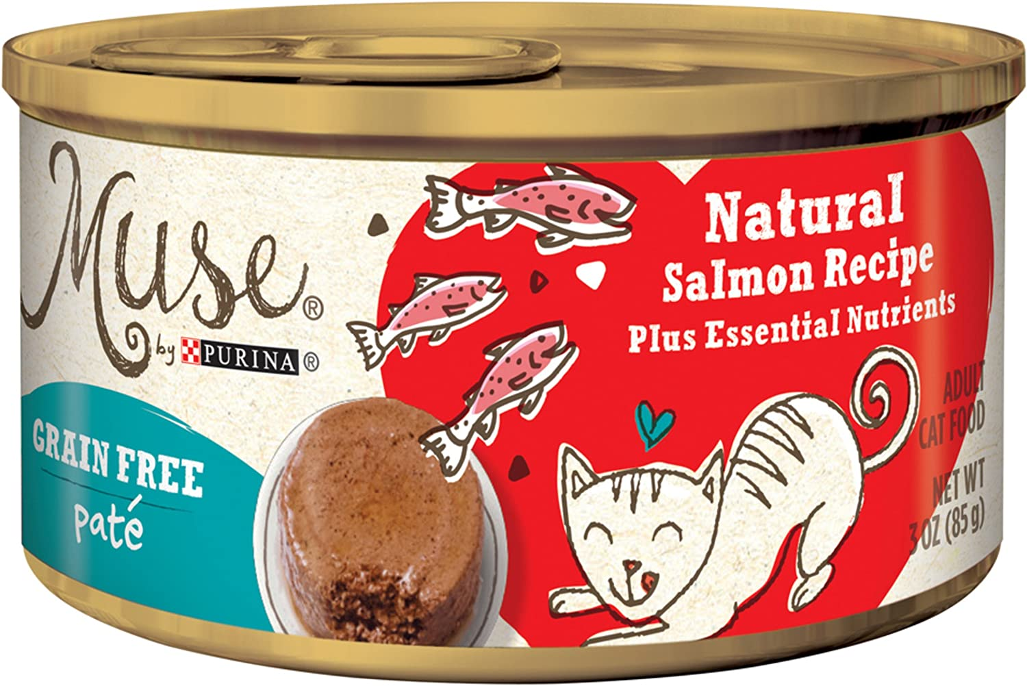 Muse Grain-Free Natural Pate Canned Wet Cat Food Featured Image