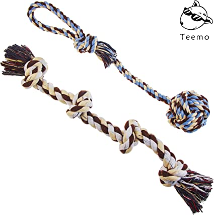 """Dog Puppy Pull Play Knot Rope Toy 10/"""""""